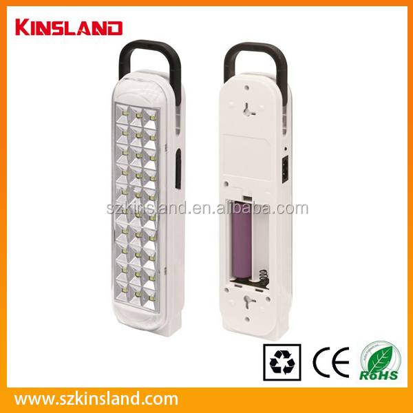 Portable 30SMD ABS Rechargeable Lantern with Li-ion battery
