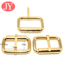 32mm iron wire metal single prong belt buckle