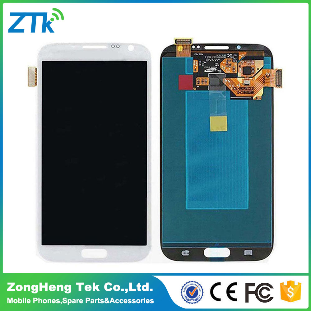 Fast DHL shipping lcd screen assembly for samsung galaxy note2 with good quality