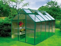 Earth Care Standard Hobby Greenhouse 6' W x 6 L
