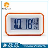 Ebay Amazon hot sale cheap illuminated alarm clocks led desk alarm clock