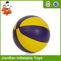 Promotional price rubber playground balls colorful basketball ball