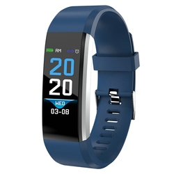 New Colorful Screen Heart Rate Monitor Smart Band Blood Pressure Oxygen Smart Bracelet Fitness Tracker