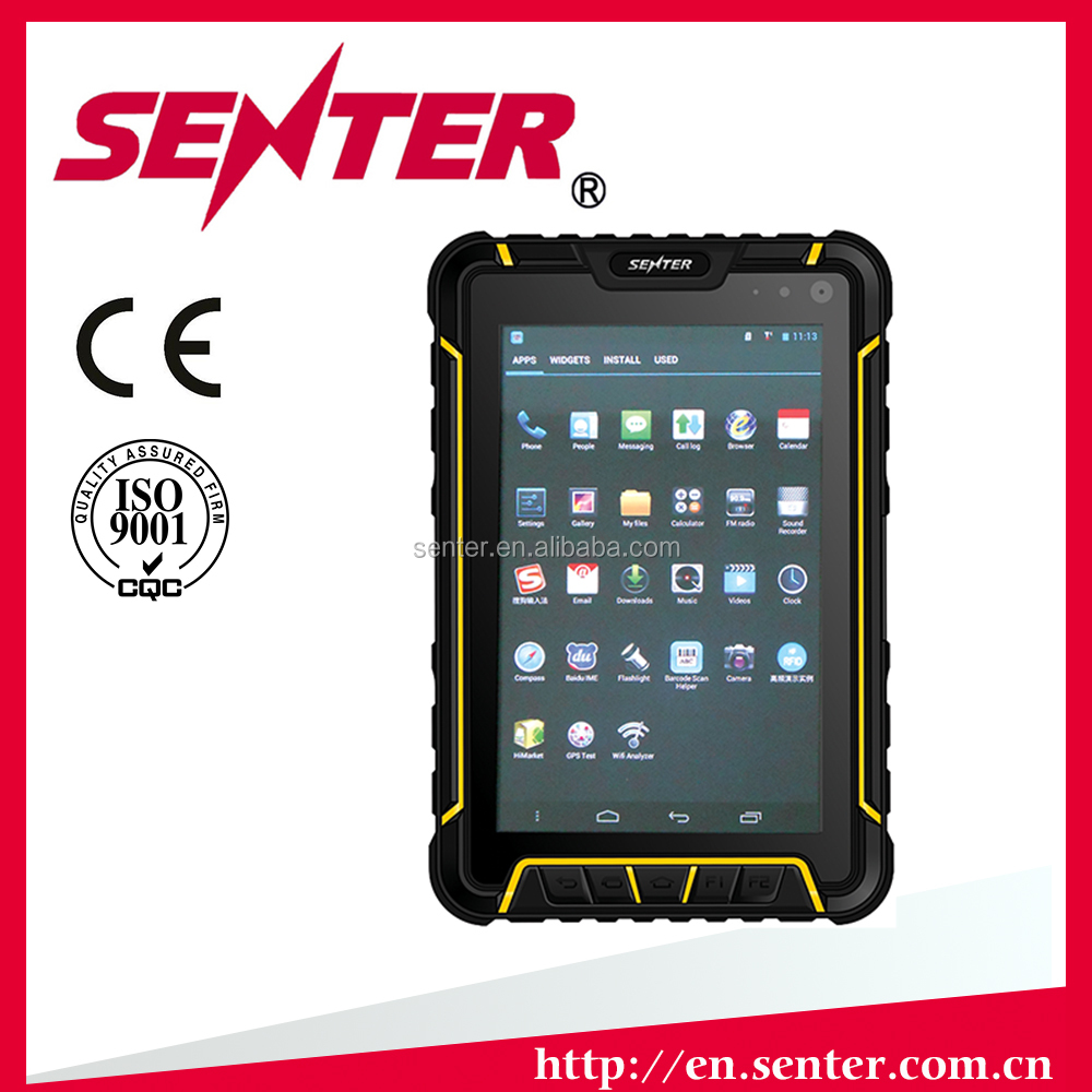 ST907 Tablet PC with HF RFID and 2D barcode scanner/Vehicle charger