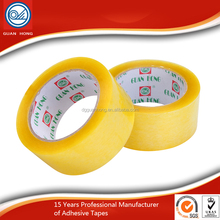 2016 new arrival hot sale transparent bopp tape for carton package
