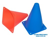 7 inch Soft PE (Polyethylene) Material Conical Witch Hat Shape Marker Soccer Sports Training Cones