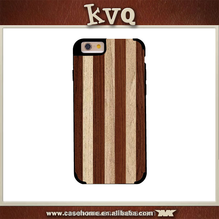 Professional OEM cell phone wood back case for iPhone 5