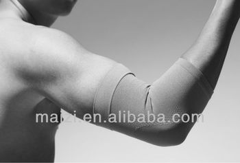 High elasticity warmly nylon elbow support