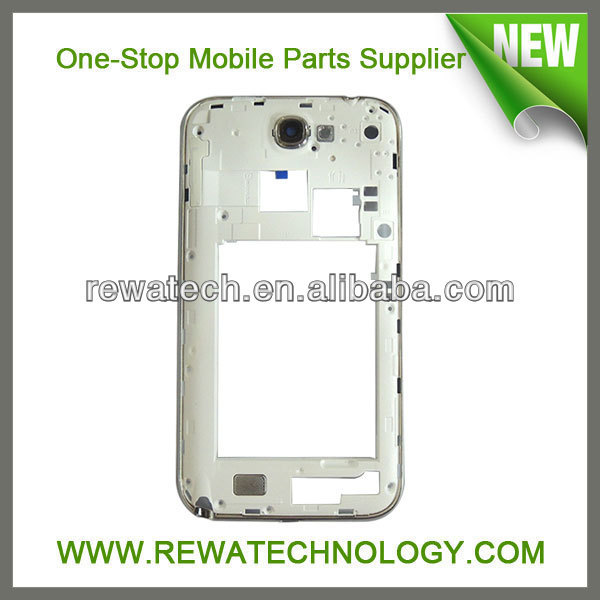 Mobile Phone Housing For Samsung Note II I317 Middle Chassis Housing