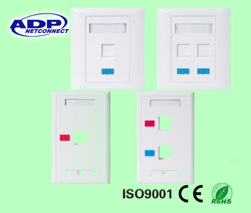 face plate rj45 faceplate wall outlet network information outlet
