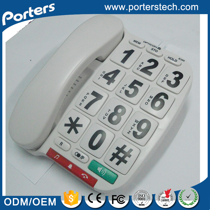 High Quality Cheap Big Button Telephone , China Phone