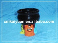 Halloween ceramic monster decoration candy bowl