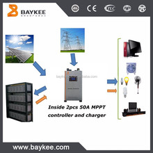 Baykee 3kw to 5kw power inverter with charger dc to ac home solar inverter