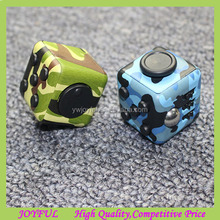 New Design Desk Toy Anti Stress Toy Magic Camouflage Fidget Cube