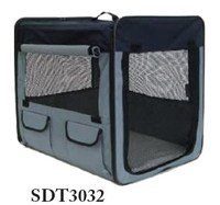 2014 NEW!!! Dog Soft Crate with Curtain and Carrying Bag