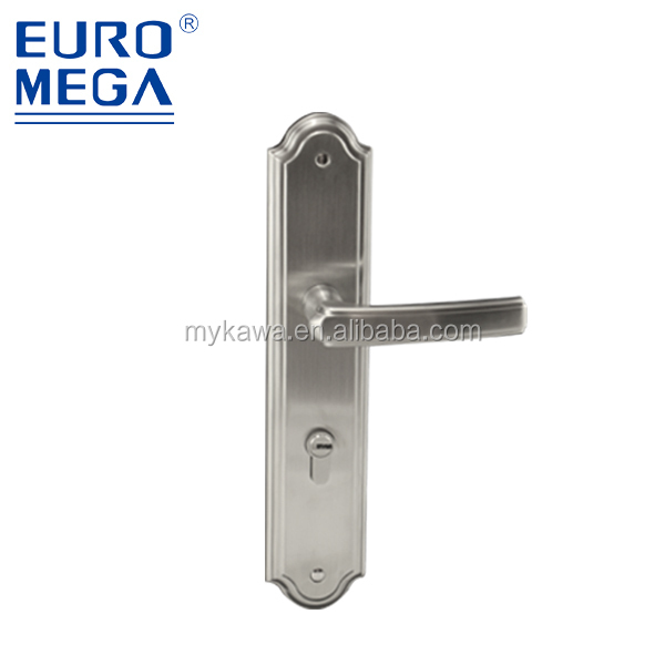 European american style mortise door handle lock