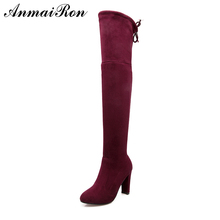 ladies thigh high boots factory price knee high women boots