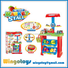Supermarket toys cashier for kids