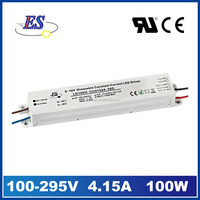 100W 4000mA 24V AC DC Constant Current 0-10V Dimmable LED Driver with CE UL CUL