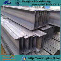 Welded H Shaped steel beams used for construction iron H beam
