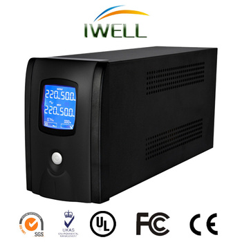 IWELL BSQ1000 No break power supply 3000va LCD Offline UPS