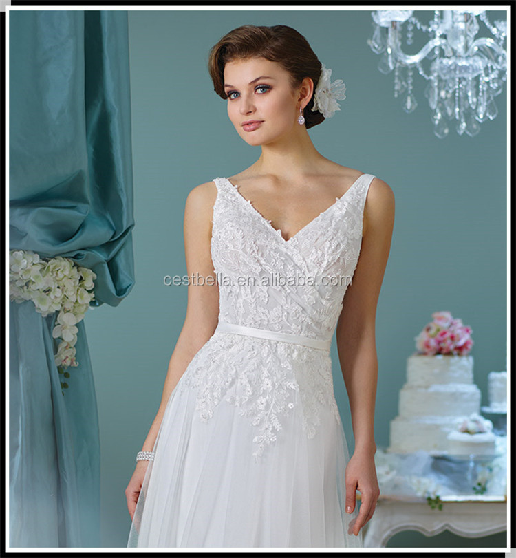 Hot sell A line wedding dress 2018 evening dinner party ladies gown Guangzhou wedding dress