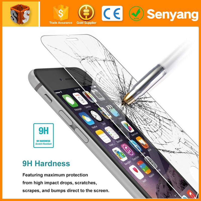 Top Quality HD clear ultra thin anti-scratch tempered glass screen protector For iphone 7/7plus