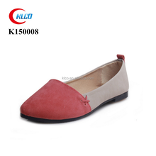 Women fashion loafers casual flats pointed toe ballerina shoes