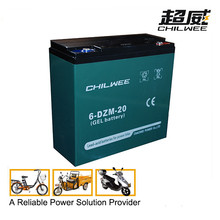high quality electric bicycle sealed lead battery 12v20ah mf battery for electric tricycle