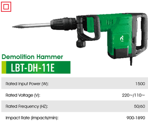 high quality professional 1500w demolition Hammer drill hm 0810 model
