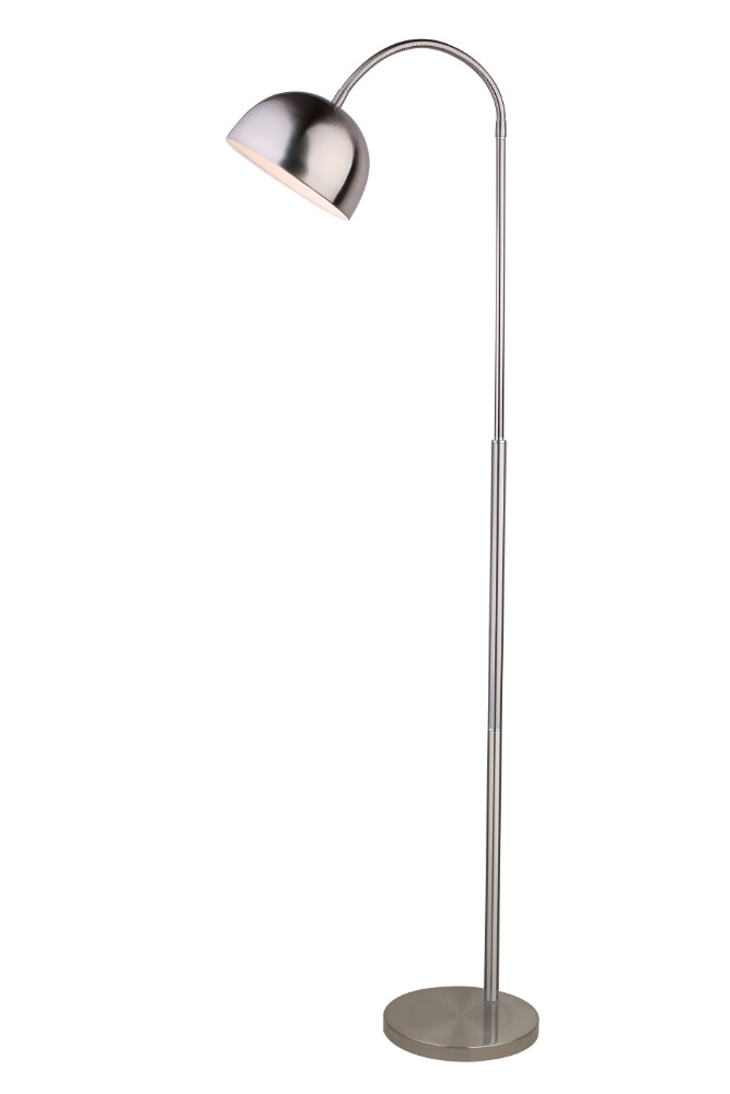 big unique metal floor lamp, modern fishman lamp, fabric or metal lampshade
