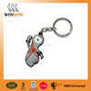London Olympics sport man custom souvenir soft pvc keychain