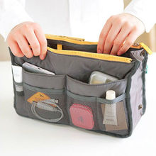 foldable canvas storage bag with two zipper