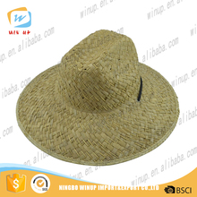 2016 handsome mens sun paper hat straw made party hat