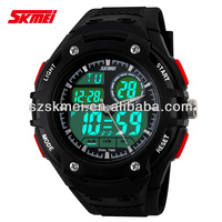 stopwatch wholesale waterproof watches fashion outdoor watches for boy double movt