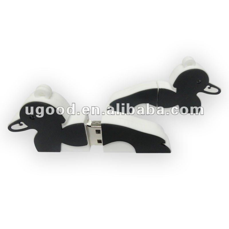 Duck animal shape usb flash drive