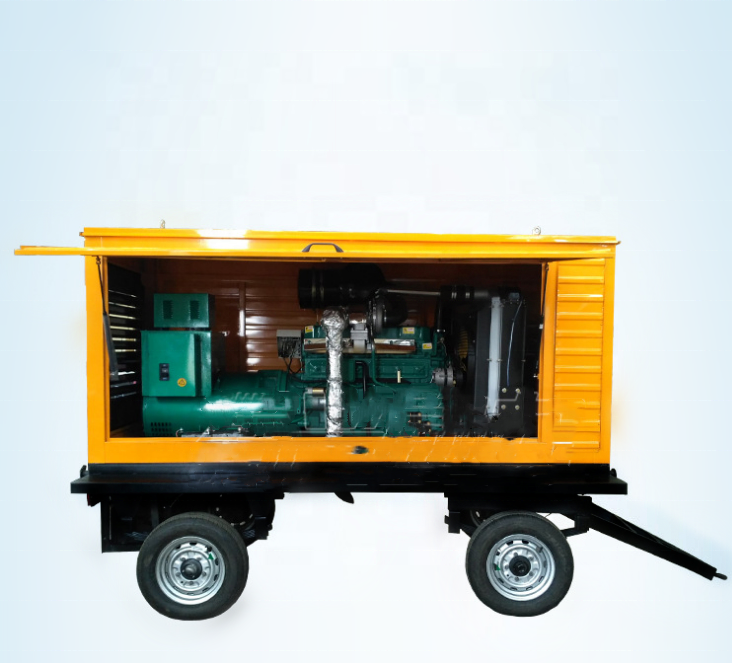 2019Best Factory Price High Quality 7.5kw Portable Silent Open-shelf Permanent Magnet 100KVA Diesel <strong>Engine</strong> Generating Set