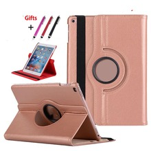 Wholesale Flip 360 Degree Rotating Stand leather case for ipad pro