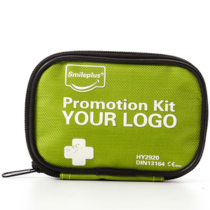 Medical Gift Mini First Aid Kit Pouch with Alcohol Pad