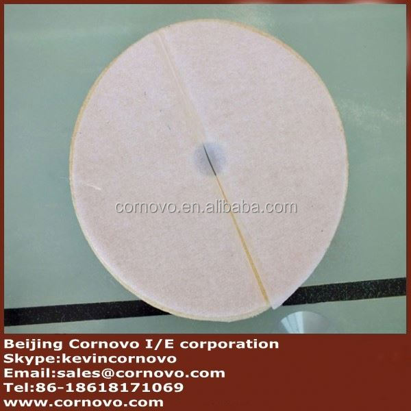 new arrival 25mm thick genuine wool granite marble floor polishing pad with low price
