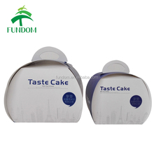 china printed wholesale food grade fold up cheap creative cute universal paper single mini cupcake packaging box for cupcakes