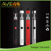 kanger topevod starter kit with 1.7ml top evod atomizer 650mah evod battery