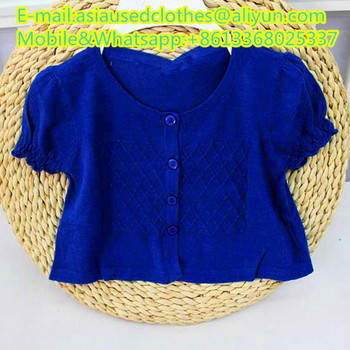 Children Knitted coat used various types of mixed high quality