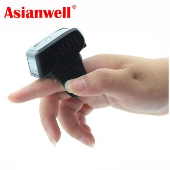 Portable mini small wearable ring bluetooth wireless barcode scanner
