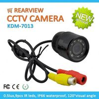 Professional CMOS 700tvl 120degree Rearview Security rear view color camera