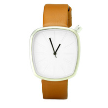 2017 China Factory Minimalist design Leather Vogue Quartz Lady Watch Women And Men !OEM watch