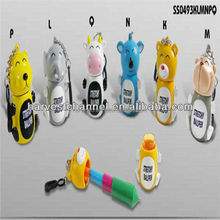 Cute Animal Shaped stretchy ballpen For Promotion