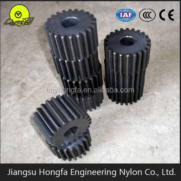 Plastic gears for paper shredder nylon gear
