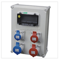 2014 NEW IEC/CEE plastic power distribution box