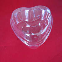 clear blister clamshell heart shape plastic strawberry packaging box